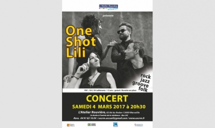 Samedi 4 Mars 2017 - 20h30 - POP ONE SHOT LILI